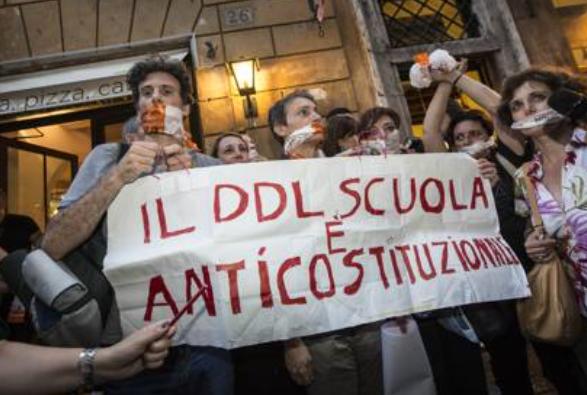 DDl Scuola anticostituzionale