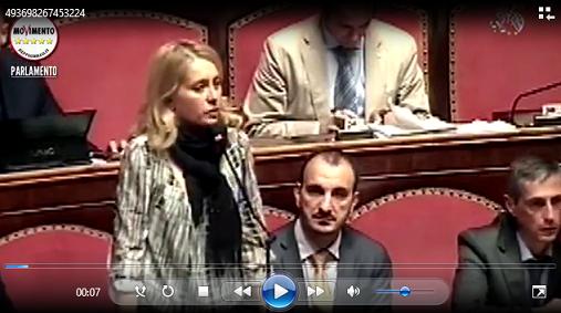 Intervento al Senato di Michela Montevecchi - M5S