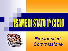 Presidenti di Commissione